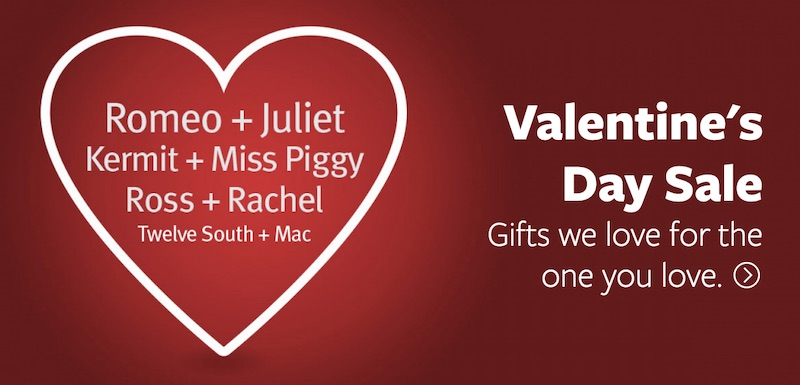 a81383c0b20 Twelve South s Valentine s Day Sale is offering 20 percent off a group of  the company s most popular products and free ground shipping on all orders  in the ...