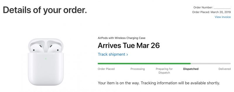 cd58f07c61d People who ordered the second-generation AirPods on Wednesday as soon as  they appeared on Apple's online store were quoted delivery dates between  March ...