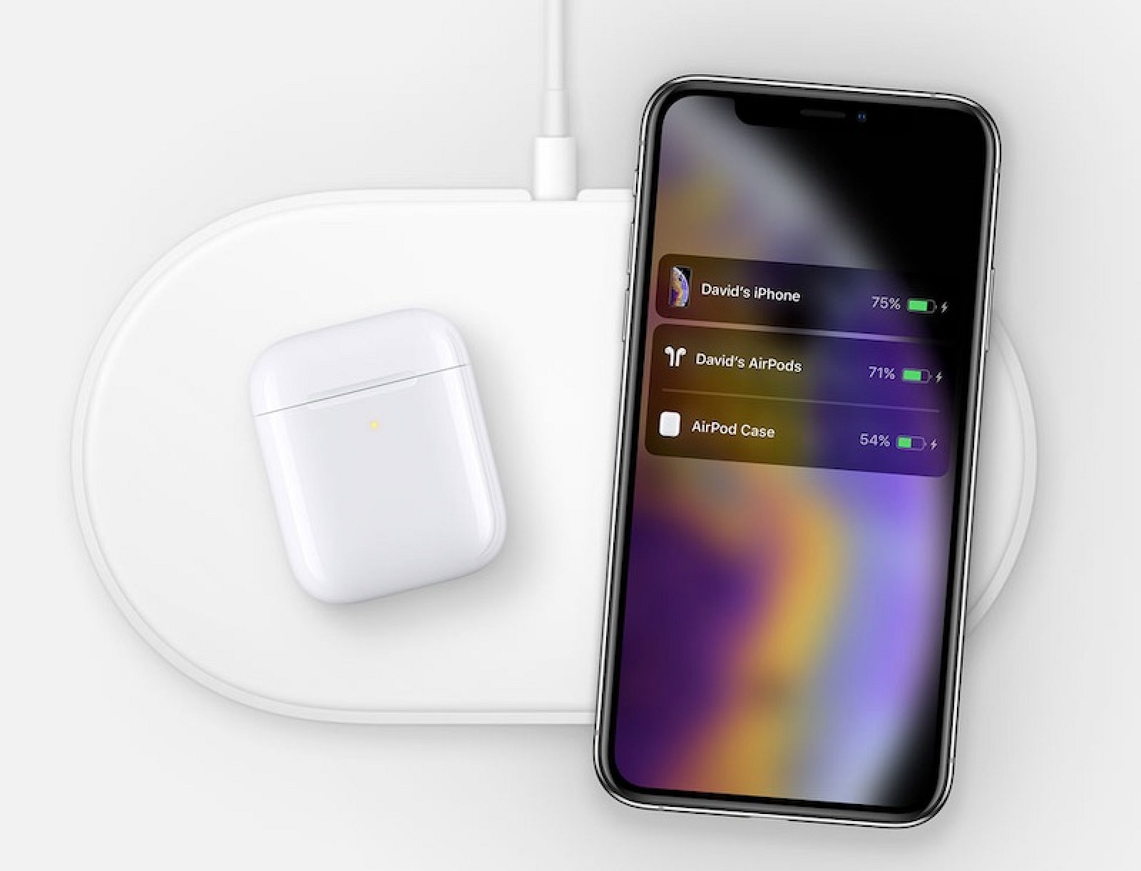 d21a8a5b4b5 New AirPower Image With iPhone XS Appears Within Source Code on Apple's  Website