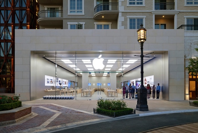 Apple Store in Southern California Warning Customers About