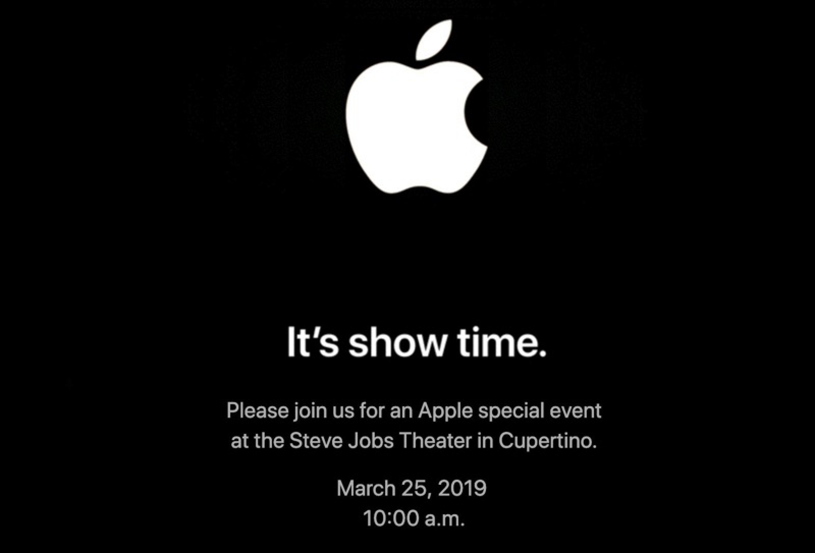 Apple's 2019 Event Plans: New Products and Software Coming