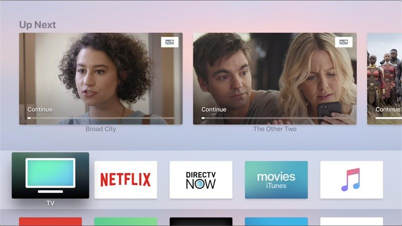 DirecTV Now Gains Apple TV App Integration [Updated] - MacRumors