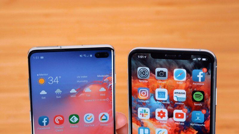 Samsung's New Galaxy S10+ vs  Apple's iPhone XS Max - MacRumors