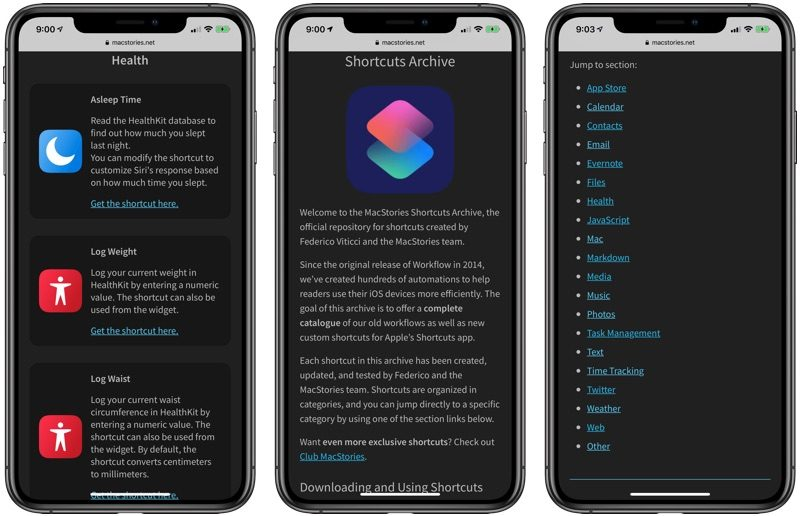 MacStories Shares Useful Collection of 150 Custom iOS