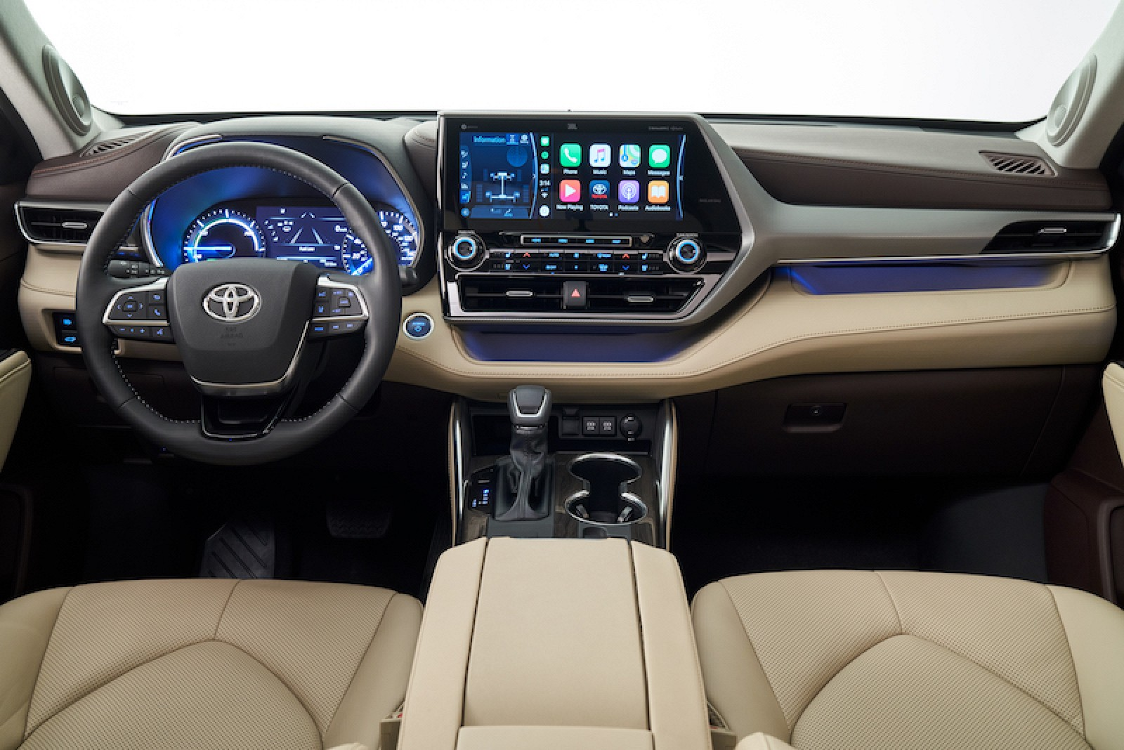 CarPlay Makes First-Ever Debut in 2020 Toyota Highlander, Nissan