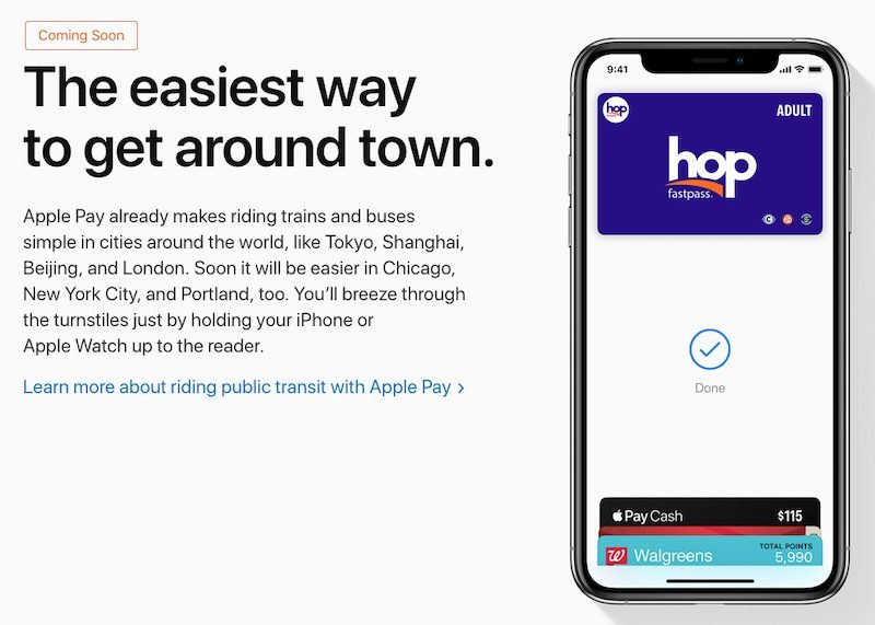 Apple Pay Coming to NYC Transit System in Early Summer