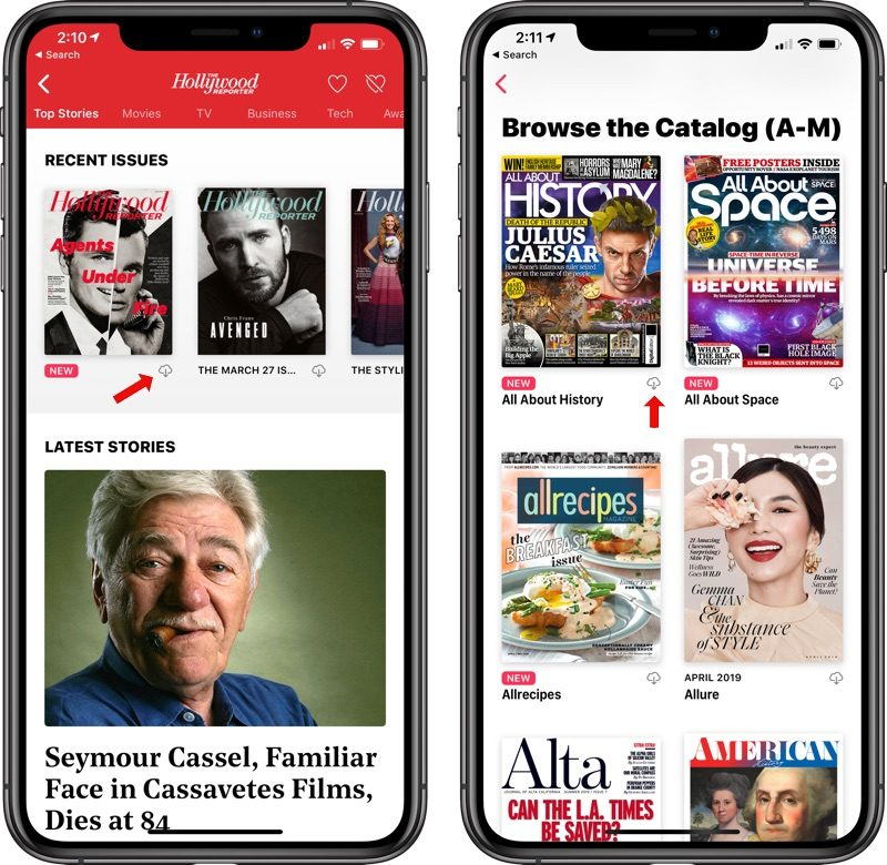 How to Download a Magazine for Offline Reading in Apple