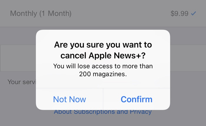PSA: Make Sure to Cancel Apple News+ If You Signed Up for a Free