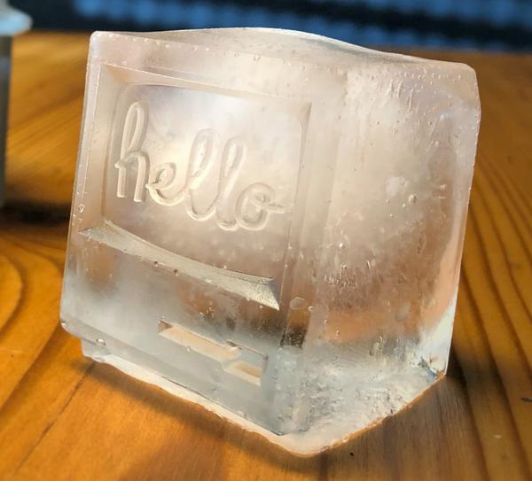 Cozy Drink Different Vintage Computer Ice Cubes Review