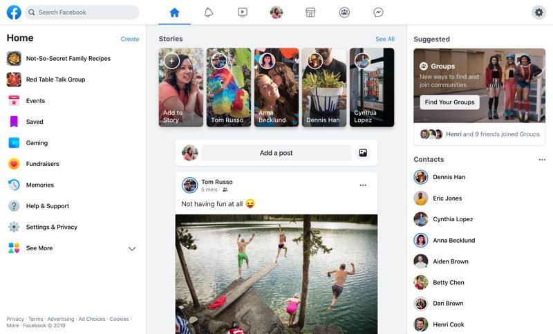 Facebook Getting Refreshed Look on Desktop and Mobile