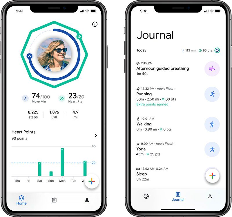 separation shoes 0eeb1 b2cd4 Google Fit Launches on iPhone With Apple Health and Apple Watch Integration