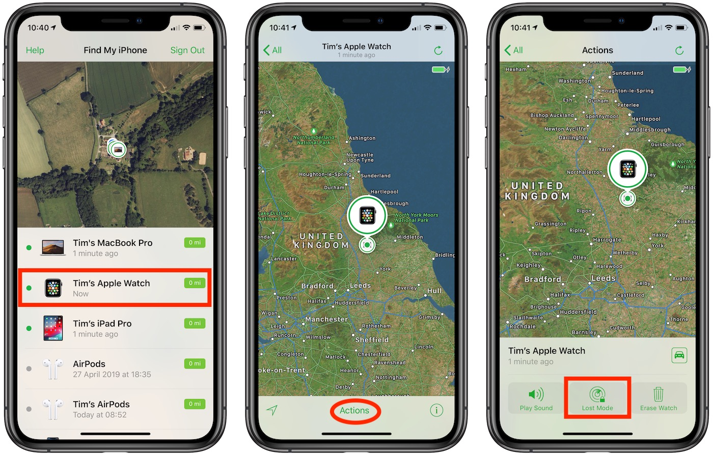 Turn Off Find My Iphone Apple Watch