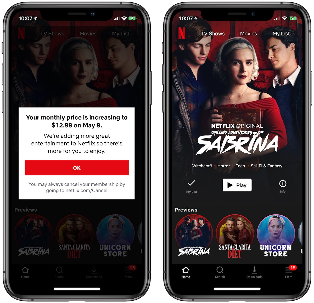 3bfd94dffd8 This change took effect immediately for new customers signing up for  Netflix
