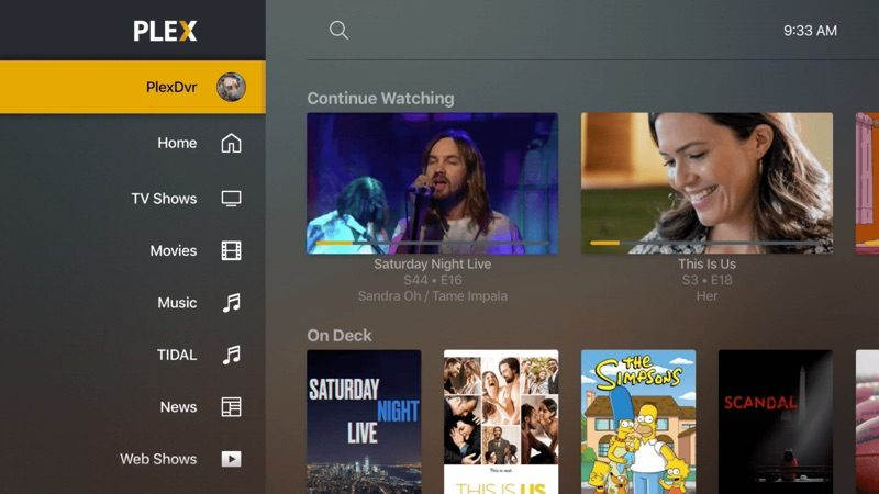 Plex Releases Beta Version of Redesigned Apple TV App - MacRumors