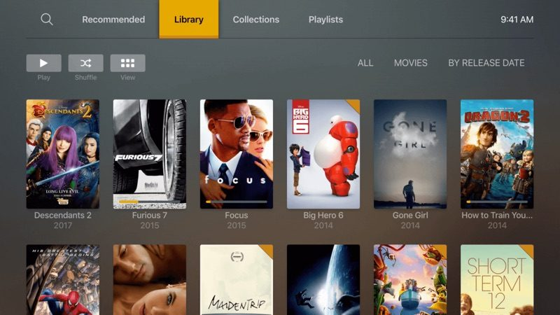 Plex Releases Beta Version of Redesigned Apple TV App
