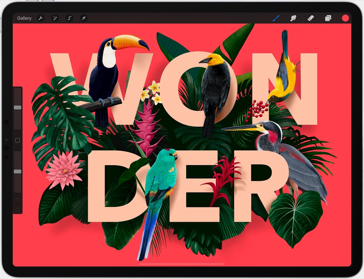 Procreate Illustration App for iPad Gains New Text Manipulation Features