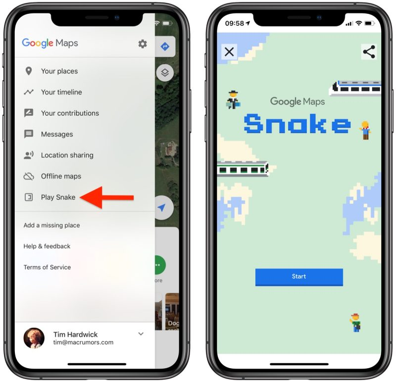 Google Maps Gains Version of Clic 'Snake' Game for April ... on google map from to, google map turkey, google circles app, google app icon, google navigation app, evernote app, craigslist app, gasbuddy app, google docs app, google calendar, google search app, google texting app, google earth, google books app, traductor google app, google mapquest, google world app, weather app, google map art,