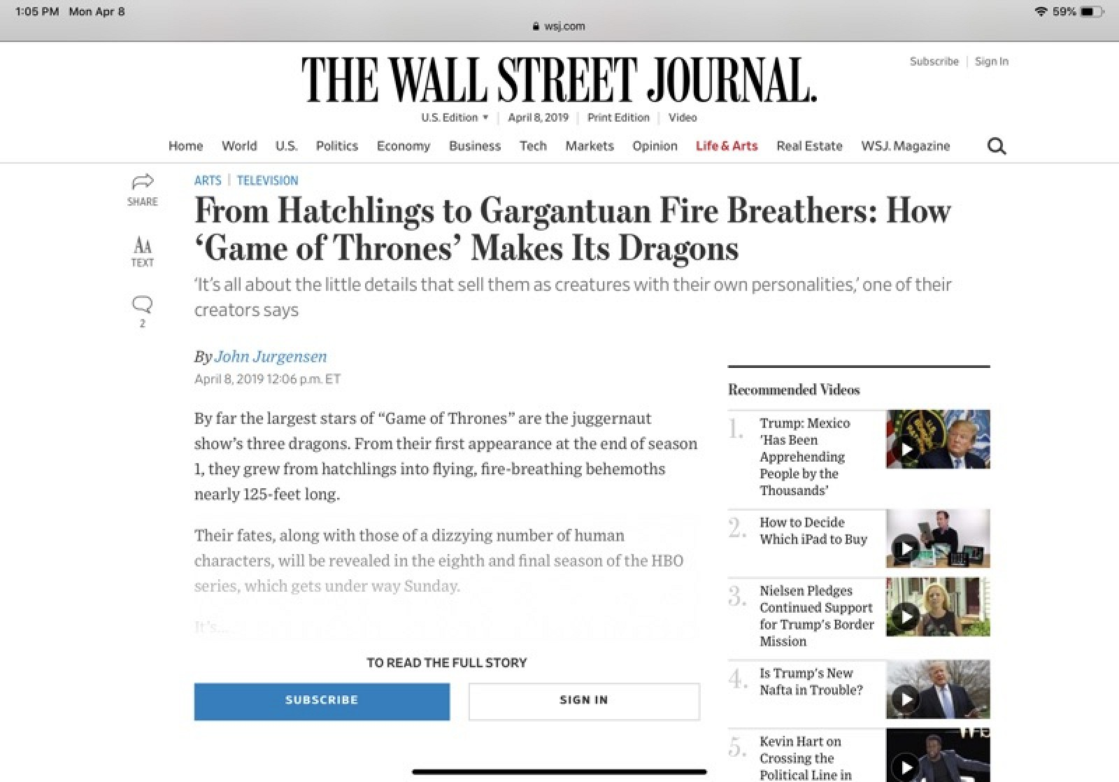 How to Read Any Paywalled Article From The Wall Street Journal Using