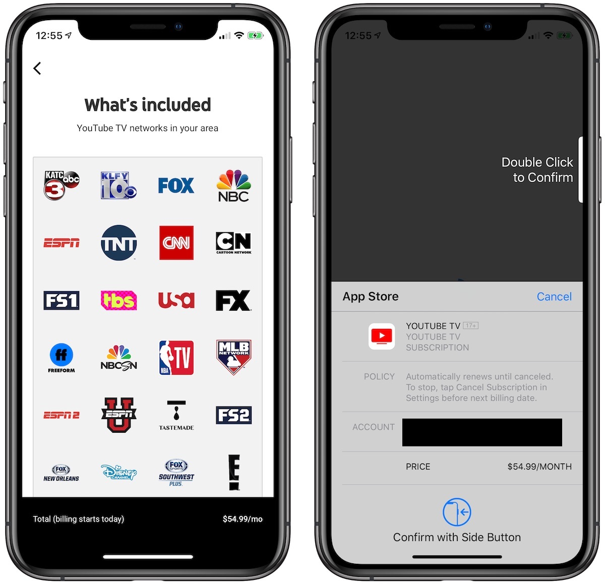 YouTube TV Increases Price to $49 99/Month, $54 99/Month When Billed
