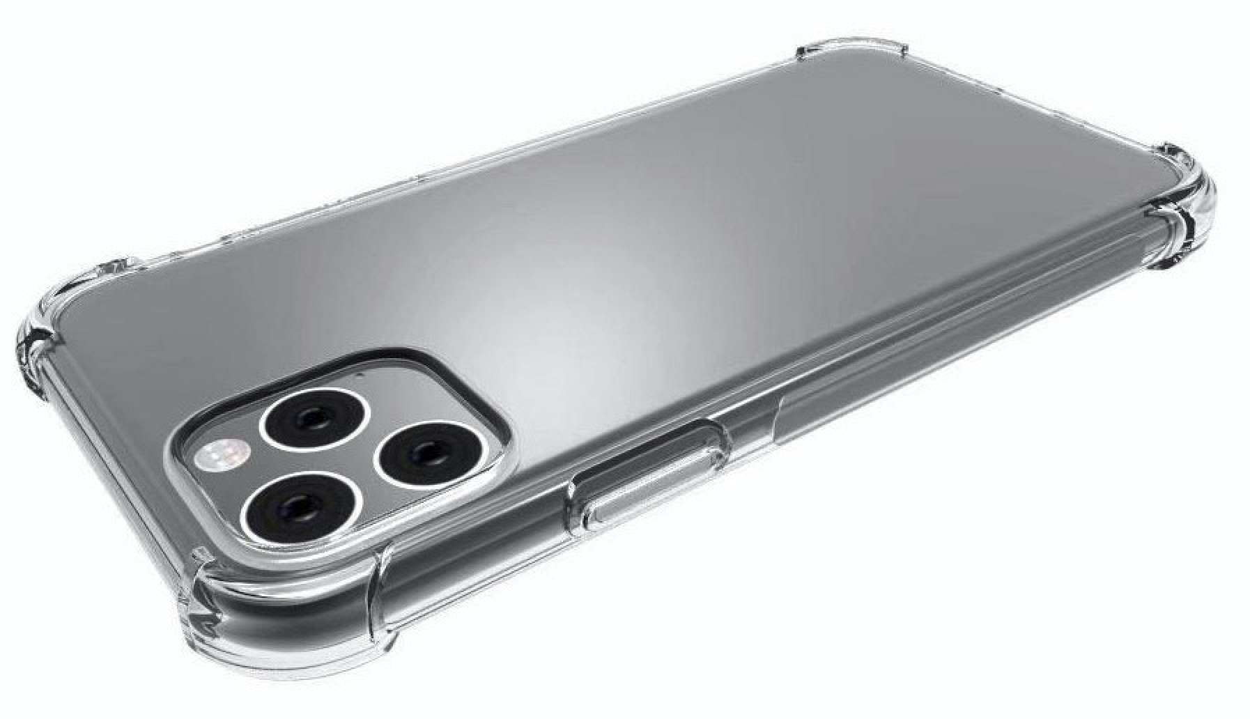 2019 OLED iPhone Case Renders Mirror Leaked Design