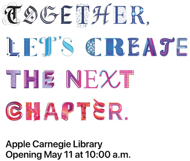 Apple Store at Renewed Carnegie Library in Washington, D C