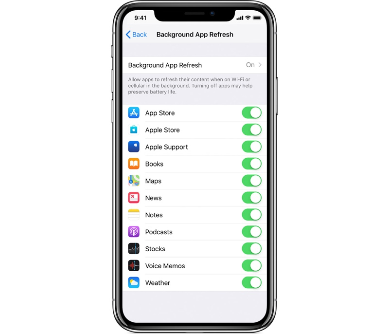 Apps Are Using Background App Refresh to Send Data to