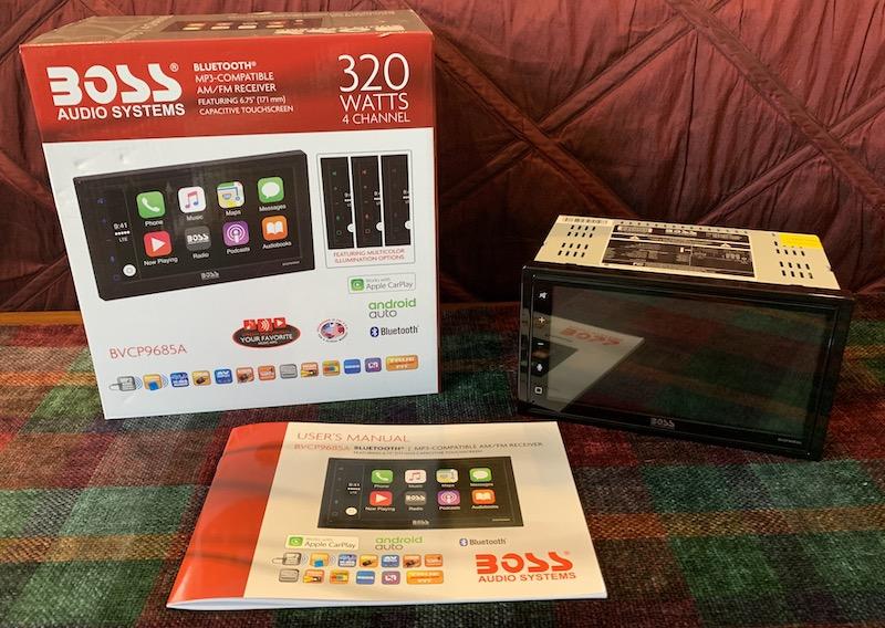 Boss Audio BVCP9685A CarPlay Receiver Review - MacRumors