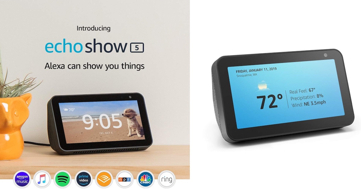 Amazon Reveals 'Echo Show 5' With New Design and Alexa