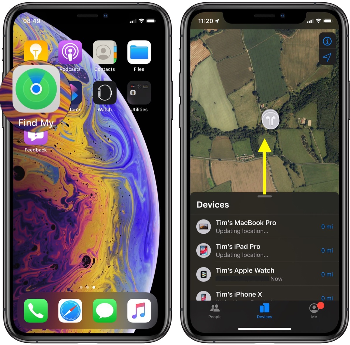 How to Locate a Lost iPhone or Other Apple Device With Find My