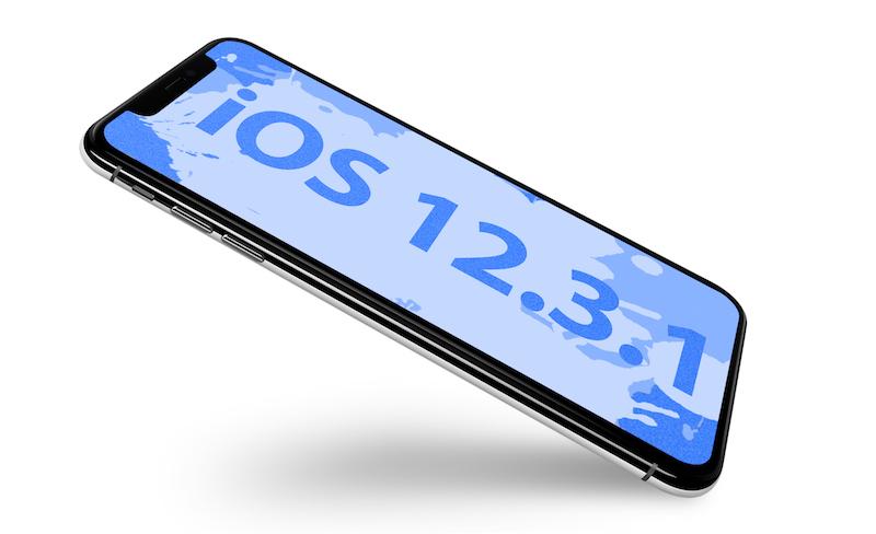 أبل تطلق التحديث iOS 12.3.1