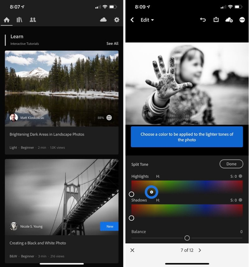 Adobe Updates Lightroom Apps for Mac and iOS With New