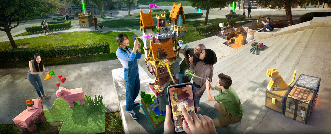 Microsoft Reveals New Augmented Reality Mobile Game
