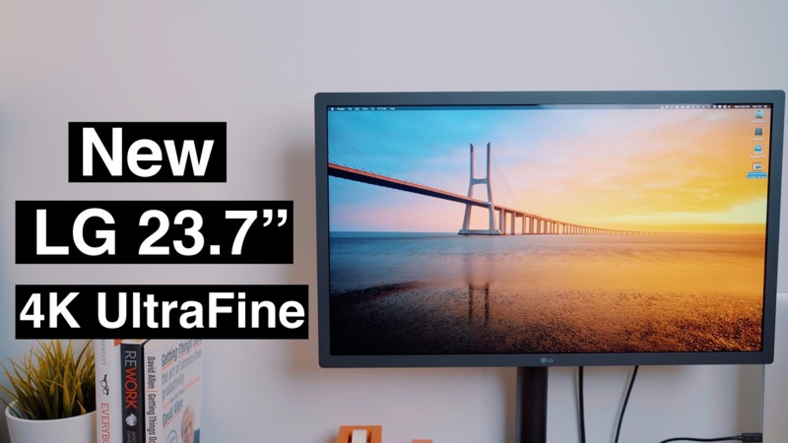 Hands-On With the New 4K 23.7-Inch LG UltraFine Display