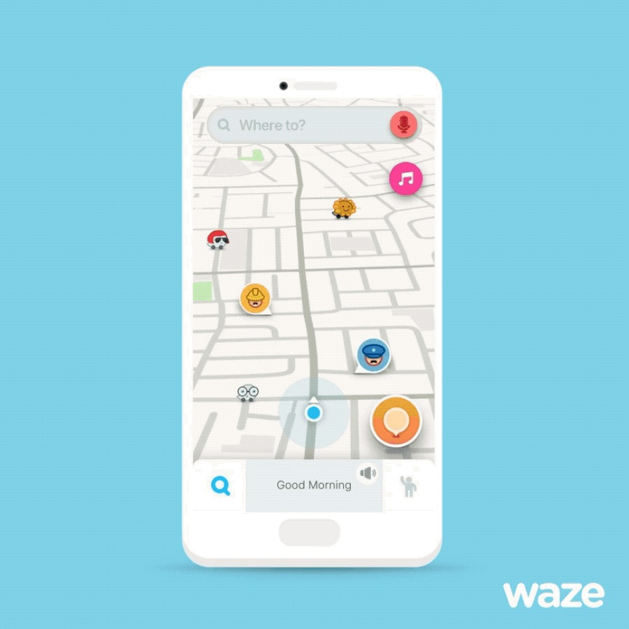 Waze App for iOS Gains Pandora Music Streaming Support