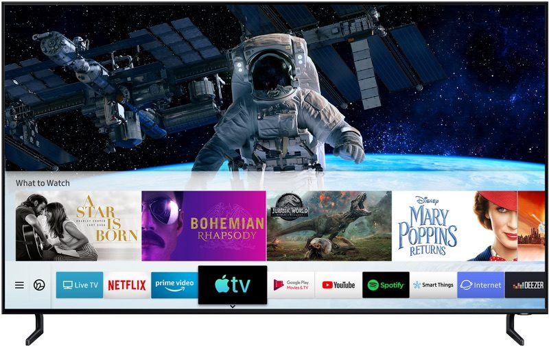 AirPlay 2 and TV App Now Available on Samsung Smart TVs