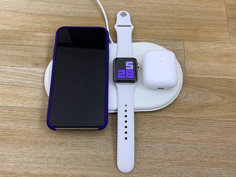 AirUnleashed无线充电器一次性收取iPhone Apple Watch和AirPods的费用