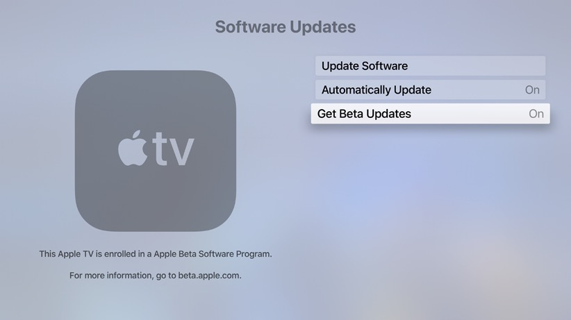 How to Install the tvOS 13 Public Beta on Your Apple TV