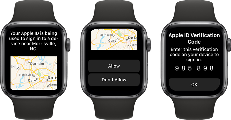 Apple Watch Can Display Apple ID Verification Codes Starting