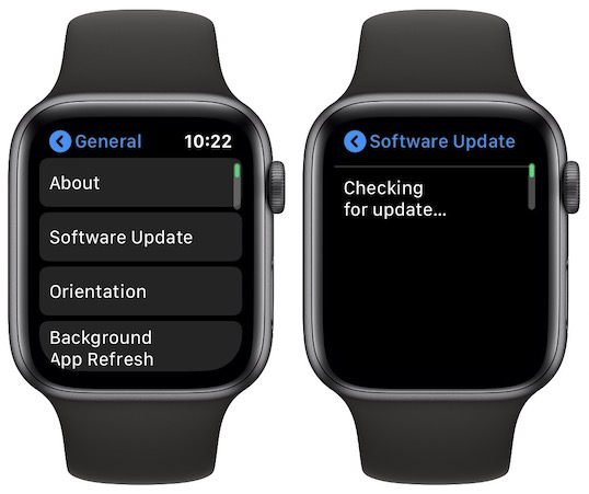Apple Watch Gets Over-the-Air Software Update Mechanism, But