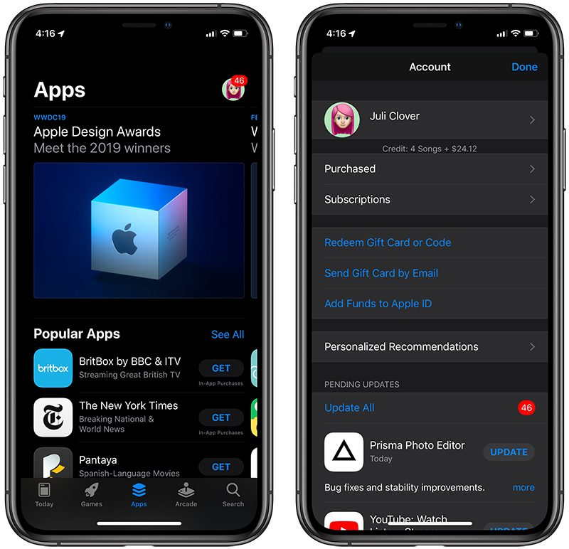 iOS 13 Lets You Delete Apps Right From the Update List - MacRumors