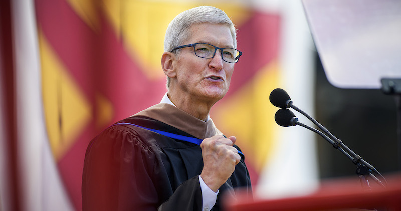 tim cook talks privacy steve jobs and the difference between preparation and readiness in stanford commencement address