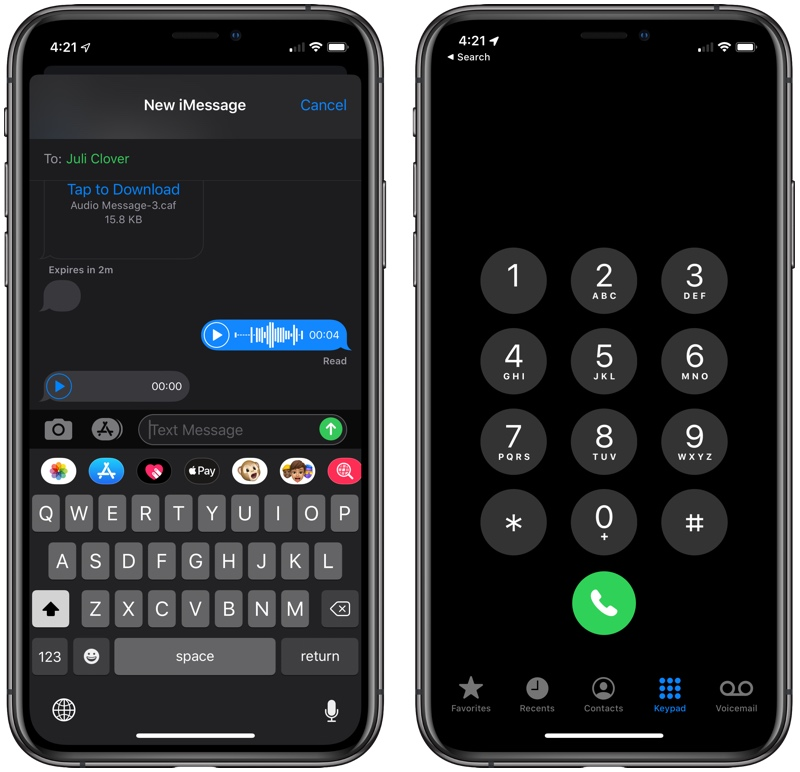 Check Out Dark Mode In Ios 13 Macrumors