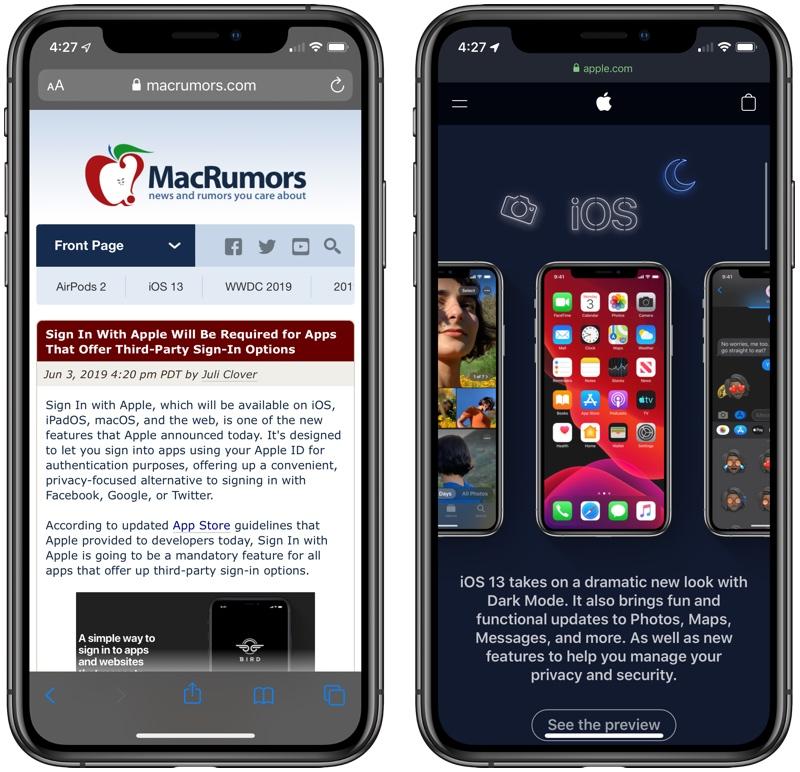 Check Out Dark Mode in iOS 13 - MacRumors