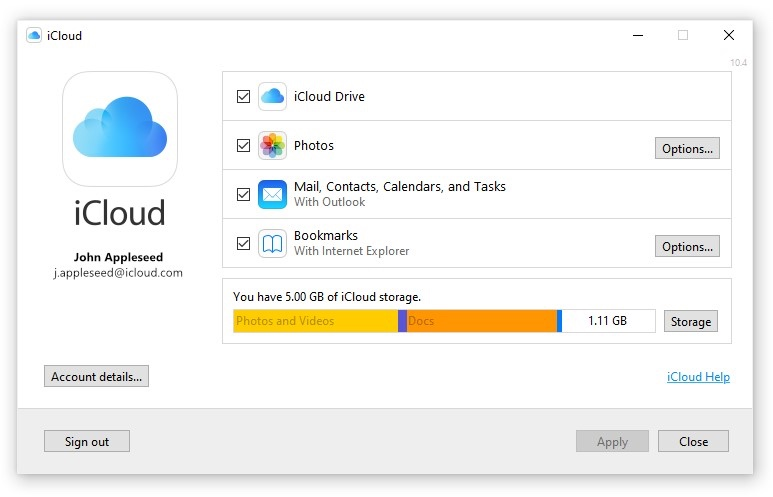 Apple Launches New iCloud for Windows App in Microsoft Store