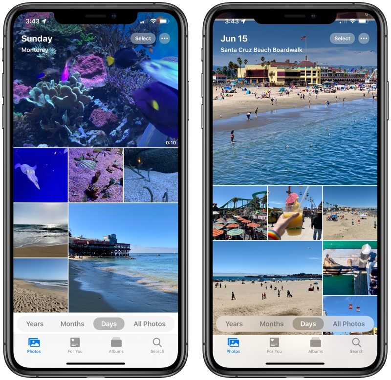 Photos: What's New in iOS 13 - MacRumors