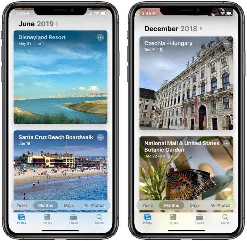 new photos app in iOS 13