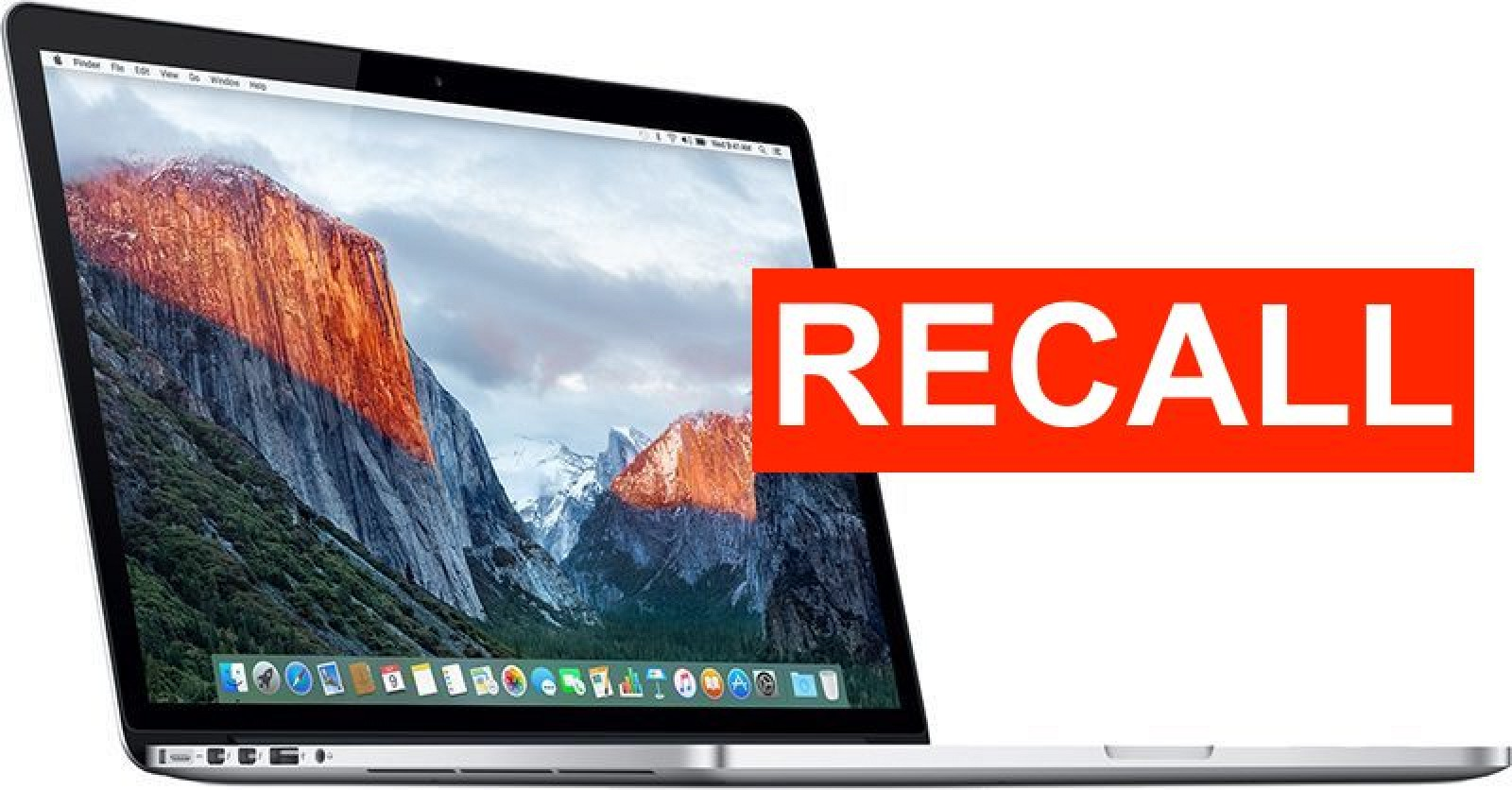 photo of Recalled 2015 15-Inch MacBook Pro Models With Faulty Batteries Banned From Flights in U.S. image