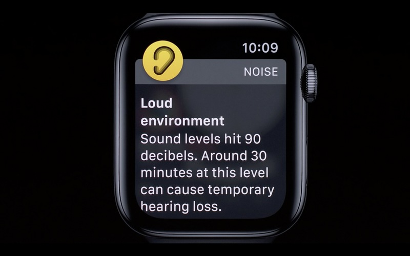 d511f2d3c5a ... noise — users will receive a notification if the decibel level is too  high. Apple says it doesn't record or save audio to protect your privacy.