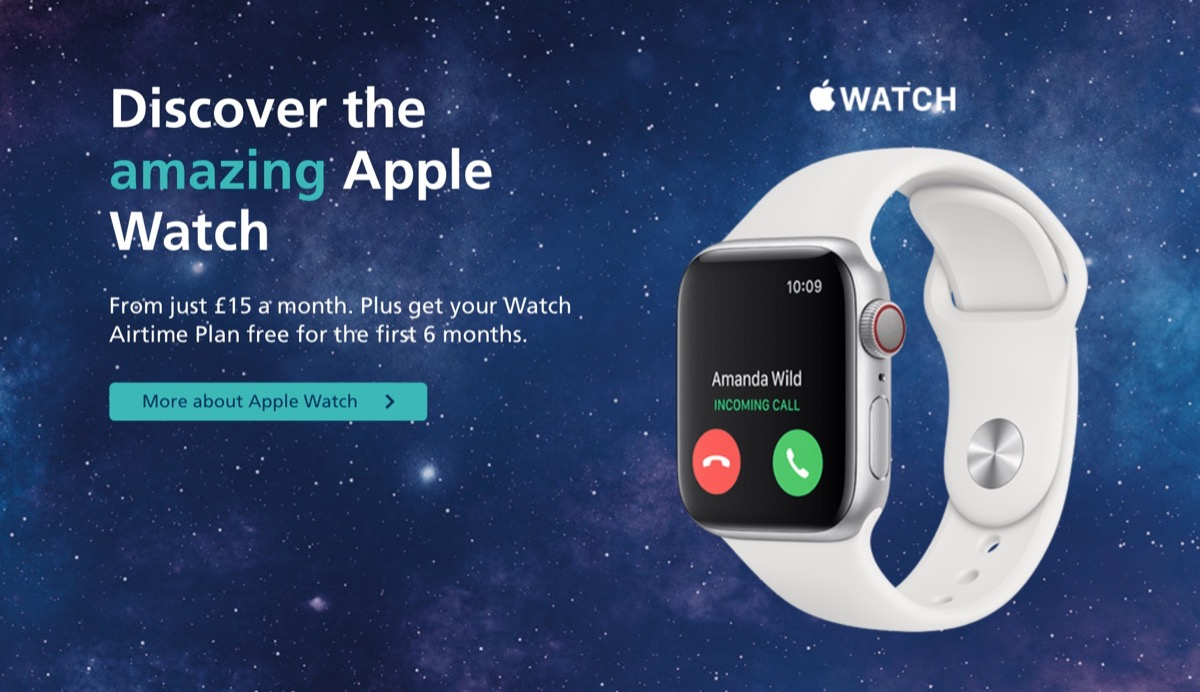 O2 Mobile Network Now Offering Apple Watch Cellular Contracts to UK