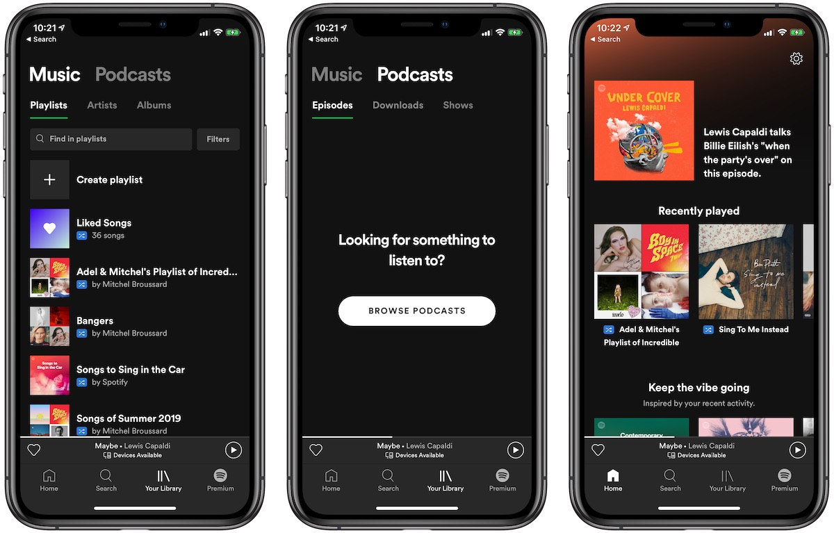 Some Spotify Users Frustrated With Recent Update, Moving to